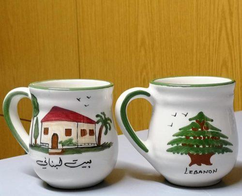 Ceramic souvenir mag Lebanon