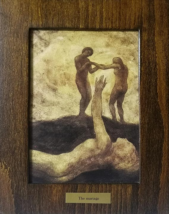 The Marriage Of A Gibran Khalil Paintings The Prophet By Gibran Kahil