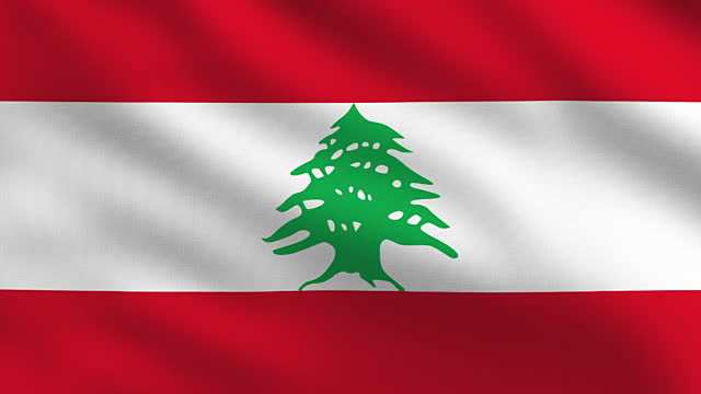 Official national and original Lebanese flag all size ...