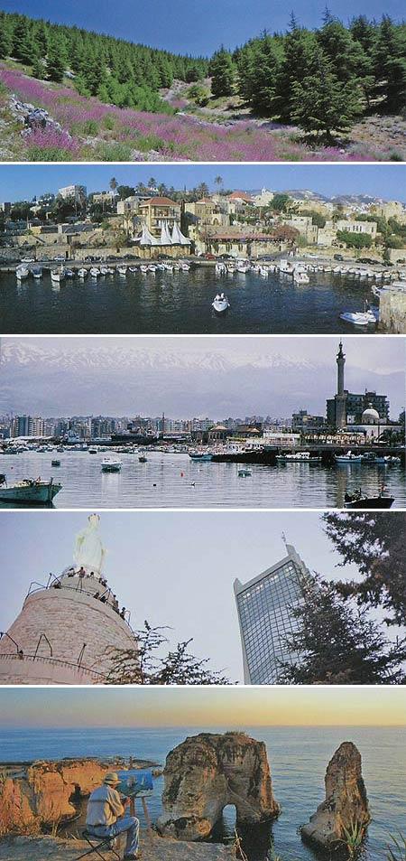 Panorama postcards
