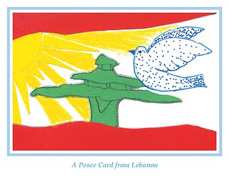 Peace postcards from Lebanon