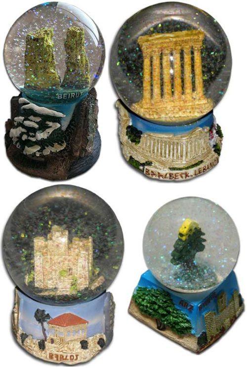 Water globe from Lebanon