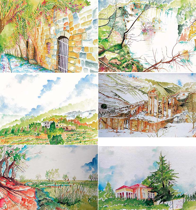 Art postcards Majdi el Allawi