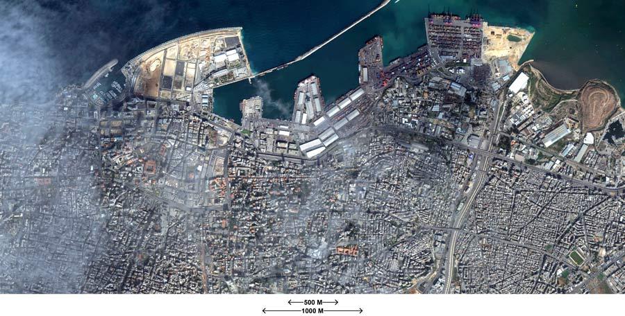Lebanon Beirut Google Maps large paper google maps - Lebanon