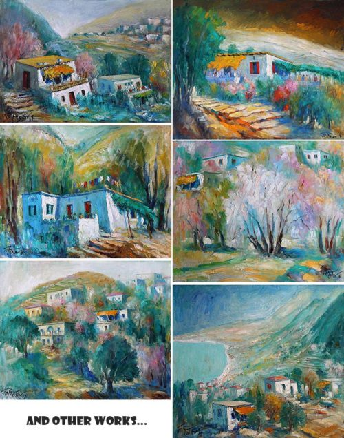 Joseph Matar Painting Artworks
