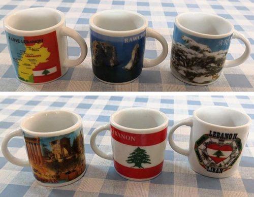 Lebanon ceramic coffee cup