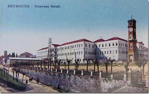 Beyrouth, Nouveau Serail - 1920