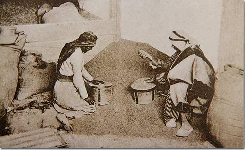 Measuring Wheat - 1920