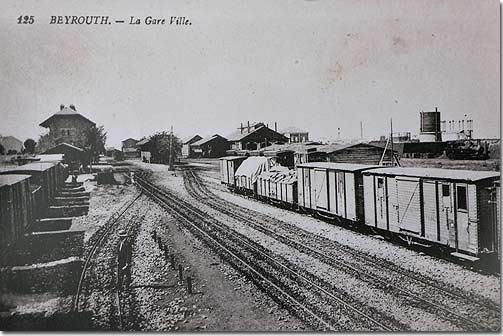Beyrouth, La Gare Ville - 1920