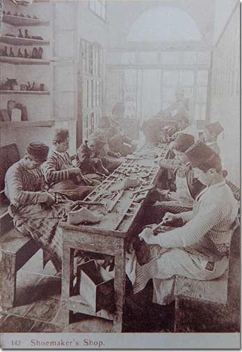 Shoemaker's Shop - 1920