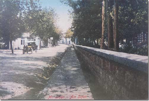 Mont Liban, Ain Sofar - 1920
