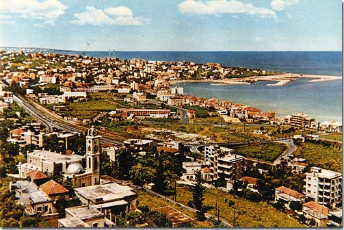 Jounieh Bay during 1955