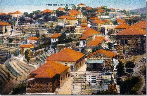 View of Beit Mery