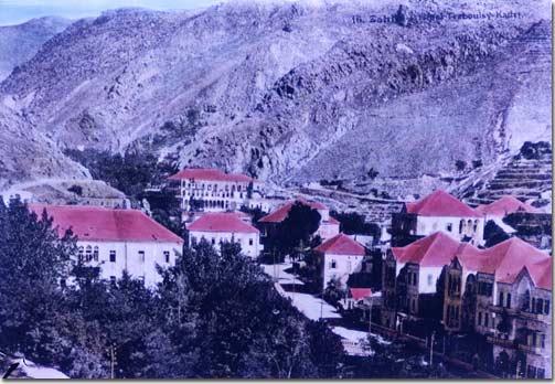 Beqaa, Bekaa - Zahlé, Zahleh 1920