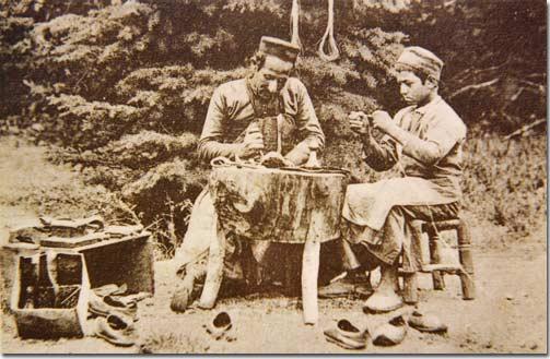 Native Shoemaker, Lebanon, Syria