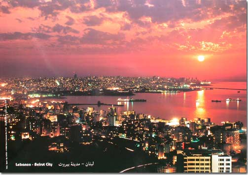 Beirut City by Night