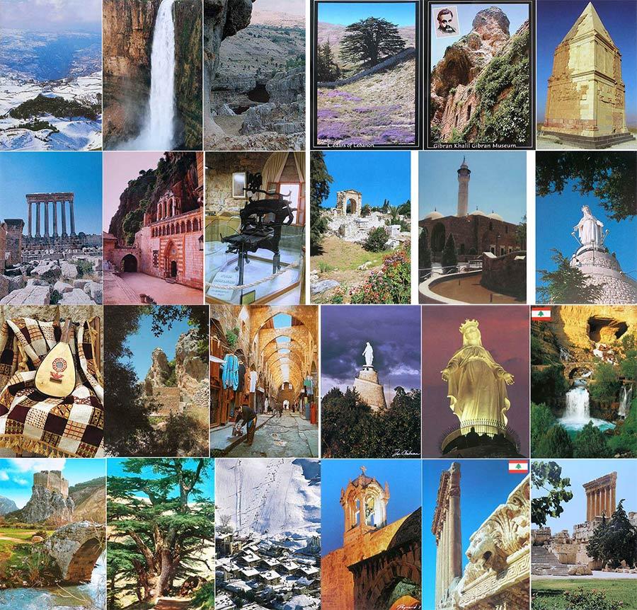 Postcards from Lebanon