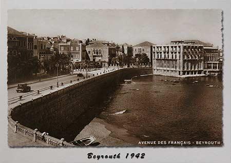 Beirut 1942 Avenue des Français