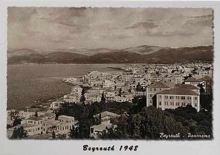 Beirut 1948 Panorama
