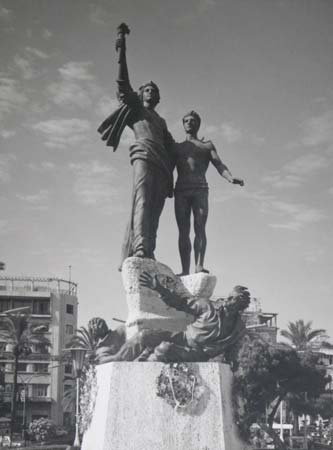 Martyrs' Statue in Beirut