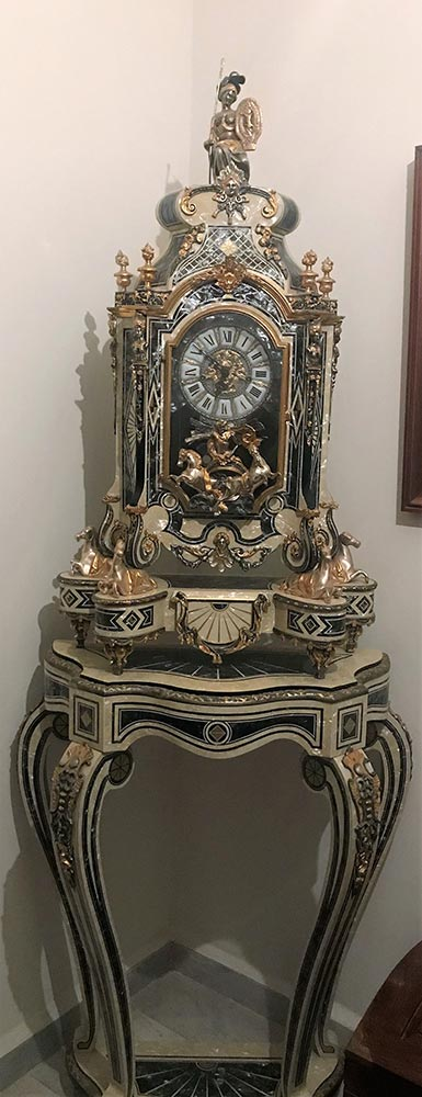 Tiffany brand clock - Collectible and antiquity