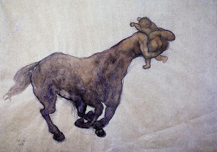 Centaur and child