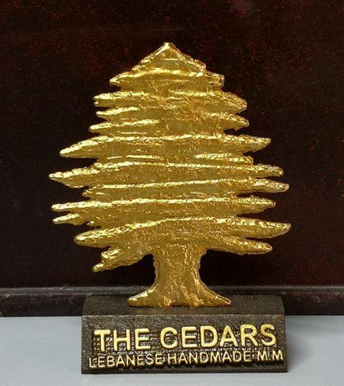 Gold cedar stand