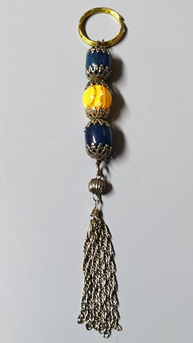 Islamic and oriental key ring