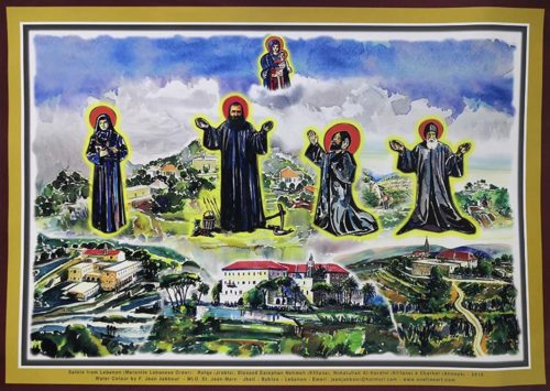 Saints from Lebanon