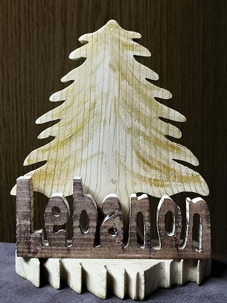 wood stand cedar